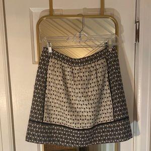 J.Crew textured miniskirt size 4!